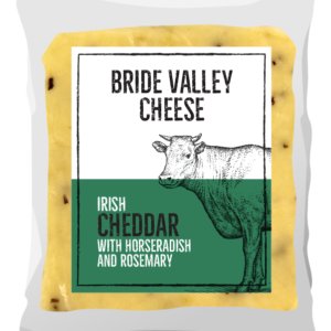 Bride Valley- Irish Cheddar with Horseradish and Rosemary