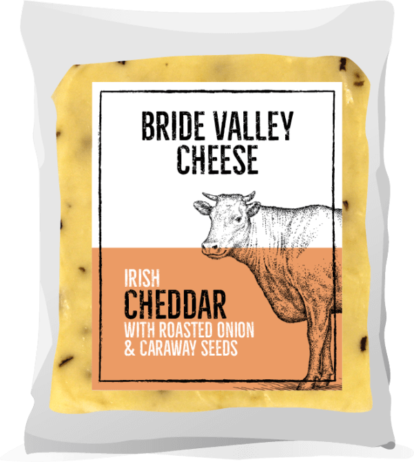 Bride Valley - Irish Cheddar with Roasted Onions & Caraway Seeds