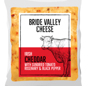 Bride Valley - Irish Cheddar with Sundried Tomatoes, Rosemary & Black Pepper